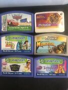 Leapfrog Leapster L-max Toy Story Madagascar Tangles Game Cartridge Lot