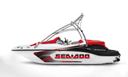 Graphic Replacement Kit Decal Boat Sportster Sea Doo Speedster 150 Swirl