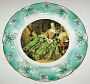 Antique 1911-1921 Nippon Noritake Portrait Charger Plate