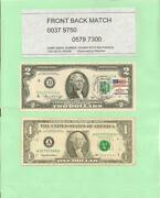 00379750 And 05797300and039 .. Forward And Back Match .. 1976 2 1st Day Stamp And 1995 1