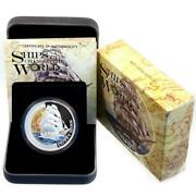 Tuvalu 1 Dollar 2012 Pp Ships Of The World Cutty Sark Silber Proof Zertifikat