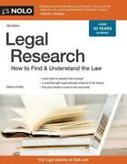 Legal Research How To Find And Understand The Law How To Find And Understand The