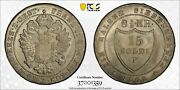 1802-f Italy 15 Soldi Ms63 Pcgs - Blast White Incredible Coin