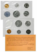 1964 Us Silver Proof Coin Set First Year Kennedy Half Proof Ogp Sku18637