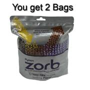 2 Bags Of Genuine Dyson Zorb 26-1/2 Oz Carpet Rug Cleaning Powder Solution