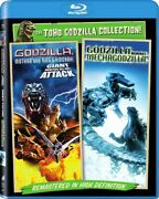 Godzilla Mothra And King Ghidorah Giant Monsters All Out Attack 2pk Bluray New