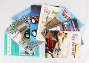 Vintage Toy Farmer And Toy Tractor Times Magazines Lot Of 8, 1987 To 1989, Vg