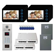 Home Security Video Intercom System Entry Door Kit With 8 5 Color Monitor