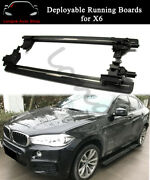 Deployable Electric Running Board Side Step Nerf Bar Fits For Bmw X6 2015-2019