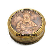 Lord Kelvin Compass 1824-1907 Antique 2 Inch Maritime Nautical Collectible Gift