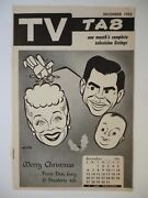 Chicago December 1953 Tv Tab Guide Lucille Ball Lucy Desi And Baby Ricky Nelson