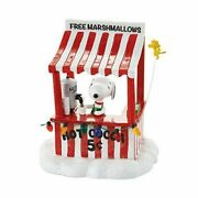 Dept 56 Peanuts Village Snoopy's Cocoa Stand 4053055 Dealer Stock-new In Box