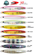 Hots Y2and039 Slow Pitch Jig Boat Slow Jigging Fishing Japan 80g 100g 120g 150g 180g