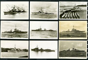 Germany Cards 35x Photo Picture Post Card Wwii Ships