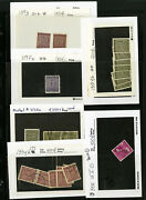 Germany Early Mint/used Varieties 40x + On Retail Cards