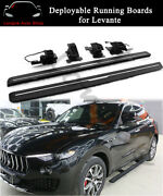 Deployable Running Board Side Step Nerf Bar Fits For Maserati Levante 2016-2020