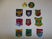 Set3 Rvn Vietnam Marine Corps Tqlc 10 Patches 1-9 Battalion And Div And Badge Ir11a