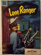Dell The Lone Ranger Oct.1955 Vol.1 88andnbsp Badge Of Honor Vf-nm 3500.00