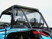 Spike 77-4400-r-t Vented Tinted Rear Windshield For 2019-on Polaris Rzr Xp1000