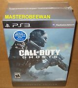 Call Of Duty Ghosts Hardened Edition Sony Playstation 3 2013 Ps3 New Sealed