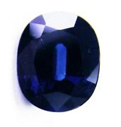 Sapphire Natural 4.15ct Blue Colour -expertly Faceted In Germany+cert Included