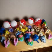 Lot Of 24 Pokemon Burger King Collectable Toys