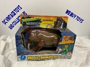 Vintage 1987 Hg Toys Dinosaur Warriors Wooly Mammoth Dino Ice Age -new In Box