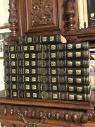 Donald G Mitchell Antique Set Leather Fine Binding Complete Works Unread Books