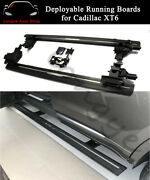 Deployable Running Board Side Step Nerf Bar Fits For Cadillac Xt6 2019 2020