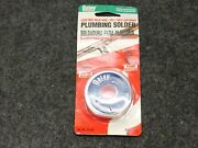 New Oatey Plumbing Solder, Lead Free Solid Wire, 95 Tin / 5 Antimony