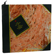 The Art Book Of Hand Marbled Papers James H. Harris First Edition 2001 Marbling