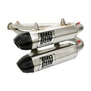 Big Gun Exo Stainless Steel Dual Full System Exhaust General 1000 / Rzr S 1000