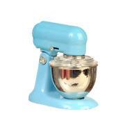 Dolls House Food Mixer Blue Modern Miniature Kitchen Accessory 112 Scale