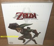 The Legend Of Zelda Twilight Princess Premiere Edition Guide Book Wii Brand New