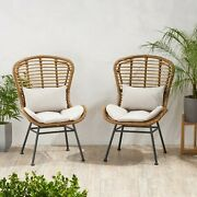 Qearl Outdoor Club Chairs Set Of 2