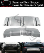 Front Rear Skid Plate Bumper Board Guard Bars Fits For Discovery Sport 2015-2020