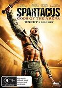 Spartacus Gods Of The Arena - Dvd Region 4 Free Shipping