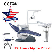 Dental Unit Chair Hard Leather Computer Controll Fda Ce Approved Usa 110v