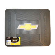 Chevy Chevrolet Rear Utility Mat Welcome Shop Garage Suv Back Rear Gm Floor Home
