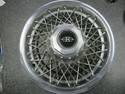 One 1 1979 Oem 15 Buick Riviera Wire Wheel Cover 01262067 25503929 1085