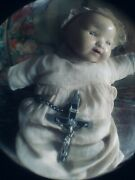 Antique/vintage Chad Valley Hygienic Toys Baby Doll In Original Clothes 10 Ins
