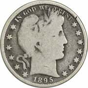 1895 Barber Silver Half Dollar G Uncertified