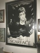 Signed Collectible Scarface Movie Poster