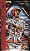 2017 Topps Fire Baseball Collector 12 Box Case Blowout Cards