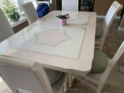 Kitchen Table With 6 Chairs Bar China Cabinet Set