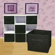 6 Pack Foldable Cube Storage Folding Boxes Clothes Organizer Drawers