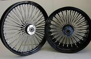 Dna Mammoth 52 Fat Rayons 21x3.5 16x5.5 Noir Roue Set 2009 + Touring Harley
