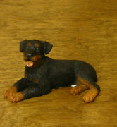 Castagna Mini Dog Figurines 367 Rottweiler, Made In Italy, New/box, 1.25