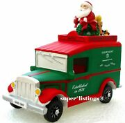 Dept. 56 Christmas Village Express Van With Santa On Top Retired New 58635