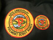 Philmont Scout Ranch 60th Anniversary Pocket And Jacket Patches   Eb09